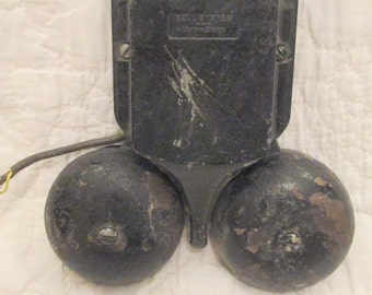 Vintage Alarm Bell wall mounted by Western Electric SALE