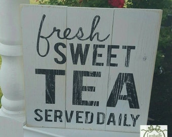 Handpainted Sweet Tea sign