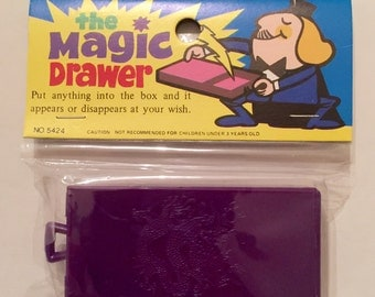 1970s Tinkeetoys Magic Drawer Unopened