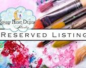 Aisle runner - Reserved listing for Cristina