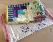 2 Vintage Doll Patchwork Quilts Estate sale Treasures