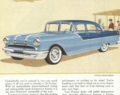 Vintage 1950s 1955 original magazine ad advertisement - Pontiac ----Expires May 23, 2016 and will not be renewed----