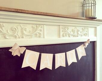 CARDS Garland- Weddings