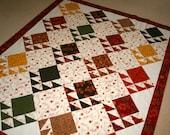 Quilt Top Sale Moda Maple Island Reproduction style Lap size Quilt