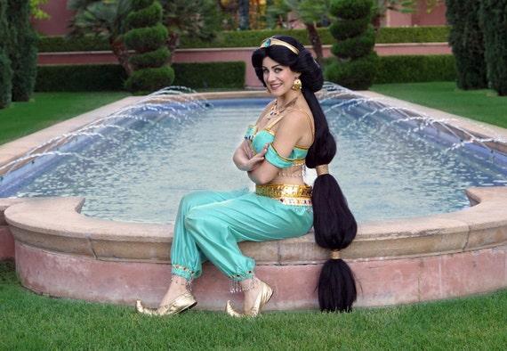 Princess Jasmine Costume Wig - A True Enchantment Original