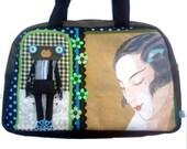 """Bag molly creative bag unique bag n51 """"Miss Shangai"""""""