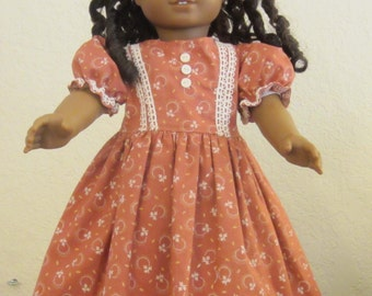 Vintage style dress 18 inch doll clothes