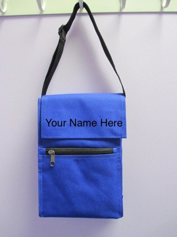 Personalized Blue Insulated Lunch Bag *CLOSEOUT SALE*