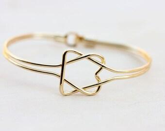 Vintage Oval Knot Bracelet