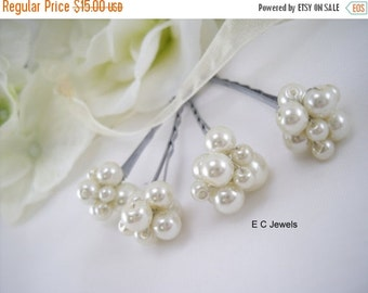 Pearl Cluster Hairpins