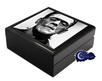 Frankenstein's Monster, Horror Movie - Jewelry and Keepsake Box
