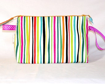 Cabana Stripe Tall Mia Bag