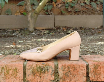 Made in Italy - Saks 5th Ave - English Rose Petal Pumps (Sz 6, Eu 36 )