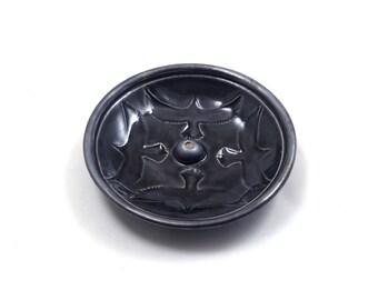 Raven Eagle  Incense Burner Handmade Pottery