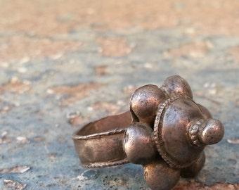 Vintage Tribal Silver Ring
