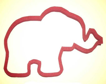 """Circus Elephant  cookie cutter 5""""  Zoo cookie cutter, carnival cookie cutter, Baby shower cookie cutter"""