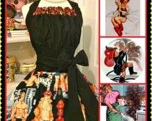Sexy Firemen woman's apron