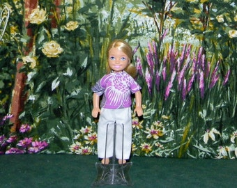 CHLSE1-164) CHELSEA doll clothes, 1 pants and top set