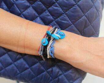 good luck charm, lucky charm bracelet, good luck, lucky, luck, evil eye bracelet, evil eye charm, hamsa bracelet, hamsa hand string