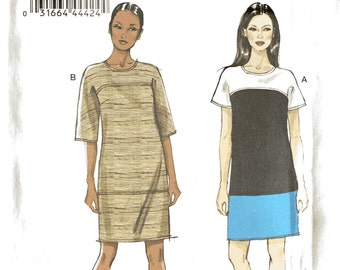 Vogue, V8805, Ladies Dresses, Sewing Patterns, Very Easy Very Vogue, 16, 18, 20, 22, 24