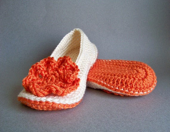 Crochet Slipper Pattern, Crochet Pattern, Spring Crochet, Crochet Slippers, Adult Crochet Slippers, Womens Crochet Slippers, Crochet Slipper