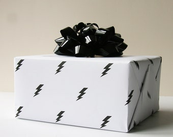 Wrapping Paper - Lightening Bolt