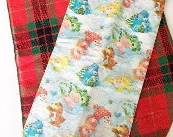 Vintage Care Bear Tissue Paper Christmas