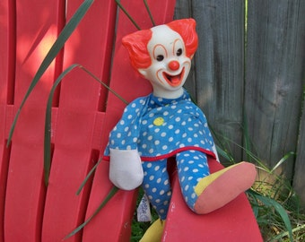 BOZO THE CLOWN puppet  no strings attached