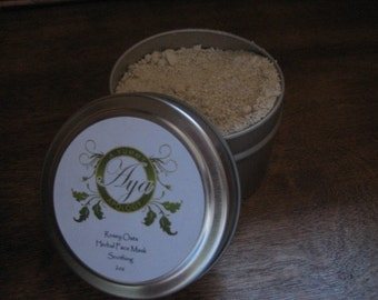 Rosey Oats Face Scrub and Mask