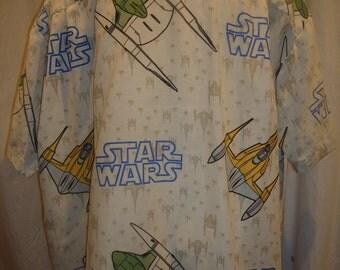 Star Wars Naboo Starship Shirt, Ready to Ship, Men's Size 3XL