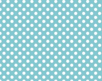 Waterproof Apron - Primary - Aqua Dots