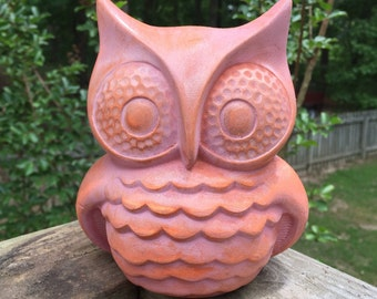 Vintage Design Ceramic Retro Owlie