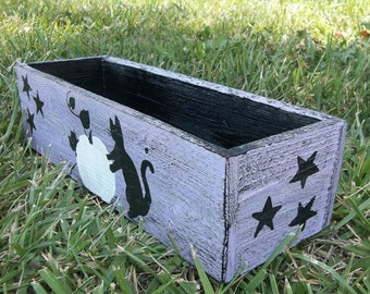 Halloween Box, Black Cats, Pumpkins, All Hallows Eve, Wiccan