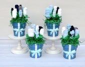 Baby Shower Ideas for Boys, Baby Boy Shower Centerpieces, Table Decorations, Baby Shower Party Package, Unique Centerpiece Ideas