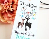 Bookmark Wedding favor - Personalized - Print your Own - Budget friendly wedding favor - Favors