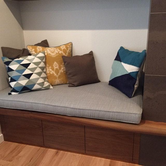 Bench Cushion Cover 58 3 4 X29 3 4 X 3