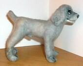 Needle Felted Weimaraner Puppy