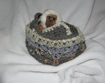 Animal Bag Tote with Monkey