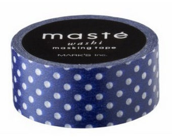 Navy Blue with White Dots (MM-114)