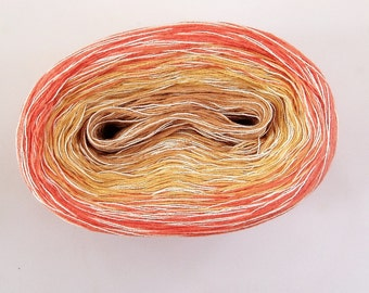 CITRUS MEDLEY Color Changing Cotton yarn  480 yards/100 gr  Fingering Weight