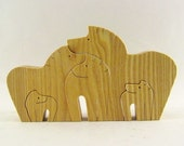 Horse Family Puzzle