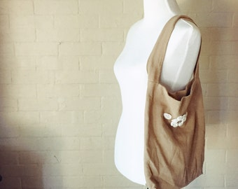 Cape Cod Linen Market Bag