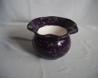 Self Watering Ceramic African Violet Planter