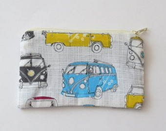 Coin purse pouch - VW Campervan