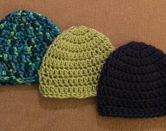 Newborn Hats Set of 3