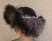 Gorgeous Ladies Wool Hat. With Real Fox Fur Trim. Makes a Great GIFT.
