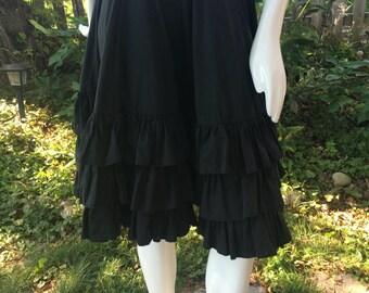 Super ruffled skirt