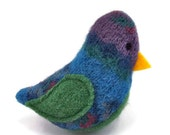 10% off - Birds of a Sweater Catnip Cat Toy - Blue, Green, and Purple