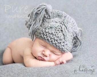 Baby hat knitting pattern 'Little Star'