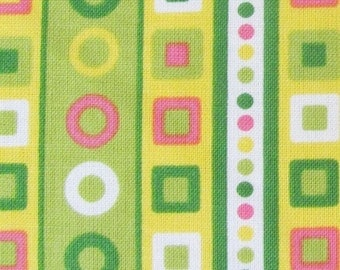 Fabric- Robert Kaufman Urban Circus Stripes in Spring